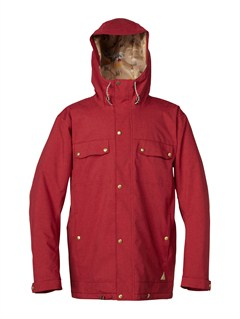 RRG0Travis Rice Polar Pillow  5K Jacket by Quiksilver - FRT1