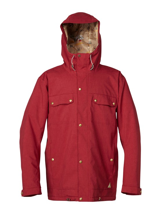 RRG0Over And Out Gore-Tex Pro Shell Jacket by Quiksilver - FRT1