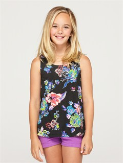 KVJ6Girls 7- 4 Wandering Meadow Tank by Roxy - FRT1