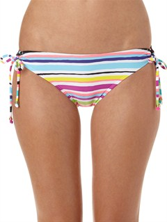 WBB3Sun Kissed 70s Lowrider Tie Side Bikini Bottoms by Roxy - FRT1
