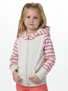 TFE0Girls 2-6 Frozen Sea Hoodie by Roxy - FRT1