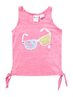 MLW0Girls 2-6 Block Rocks Harmony Tee by Roxy - FRT1