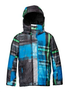 PRM5Mission  0K Youth Print Jacket by Quiksilver - FRT1