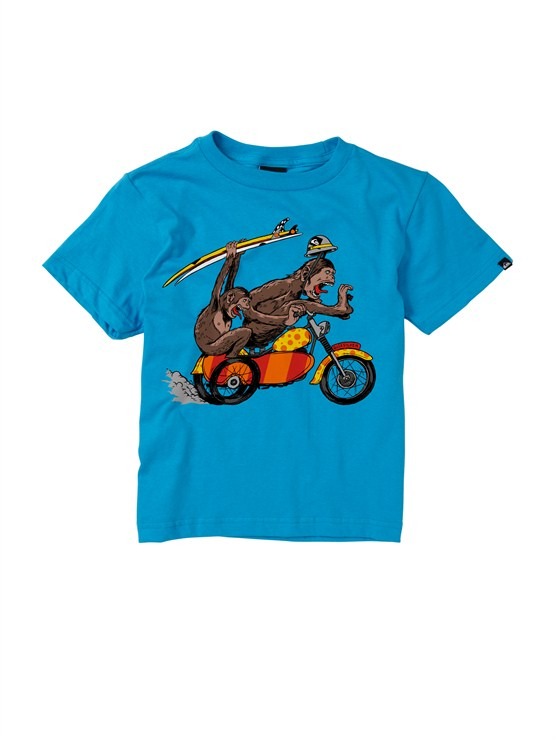 BMJ0Boys 2-7 Sprocket T-Shirt by Quiksilver - FRT1