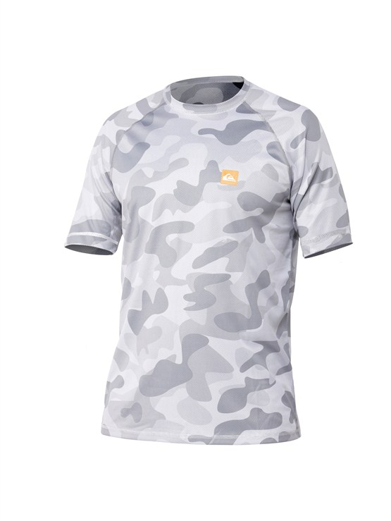 WBB6Men s Aganoa Bay Short Sleeve Shirt by Quiksilver - FRT1