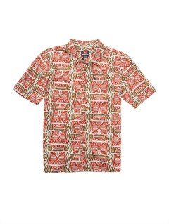 SEW0Men s Aganoa Bay Short Sleeve Shirt by Quiksilver - FRT1