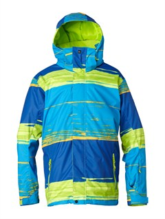 GJZ1Mission  0K Youth Print Jacket by Quiksilver - FRT1