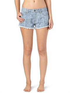 BTN6Blaze Cut Off Jean Shorts by Roxy - FRT1