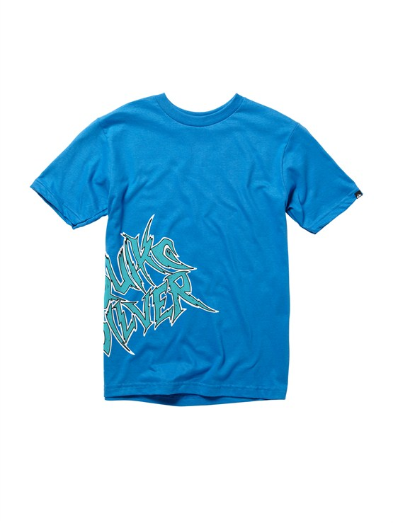 BQC0Boys 8- 6 Mountain And Wave Shirt by Quiksilver - FRT1