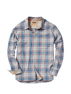 BNT0Men s Hazard Cove Long Sleeve Flannel Shirt by Quiksilver - FRT1