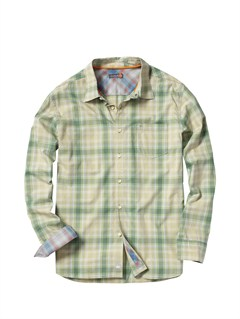 GND0Men s Aganoa Bay Short Sleeve Shirt by Quiksilver - FRT1