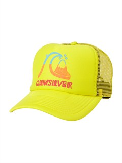 GCK0After Hours Trucker Hat by Quiksilver - FRT1