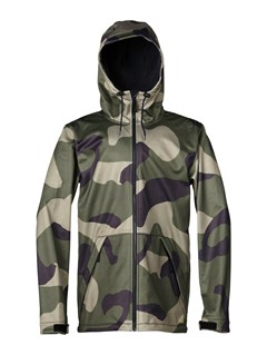 GZA1Travis Rice Polar Pillow  5K Jacket by Quiksilver - FRT1
