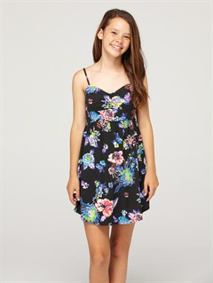 KVJ6Girls 7- 4 Beach Knoll Dress by Roxy - FRT1