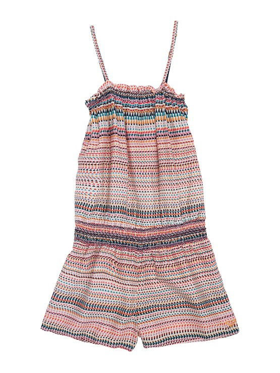 WBS3Girls 7- 4 Syncro 2MM SS Springsuit Back Zip by Roxy - FRT1