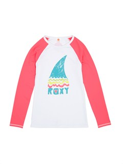 MNA0Girls 7- 4 High Light LS Rashguard by Roxy - FRT1