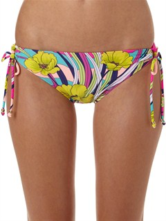 BNF6Holiday Dreaming 70s Lowrider Bikini Bottoms by Roxy - FRT1