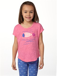 MHT0Girls 2-6 Dolphin Splash Tee by Roxy - FRT1