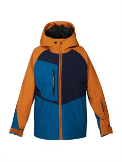 NNW0Mission Printed 0K Youth Jacket by Quiksilver - FRT1