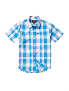 BLVBoys 8- 6 Engineer Pat Short Sleeve Shirt by Quiksilver - FRT1