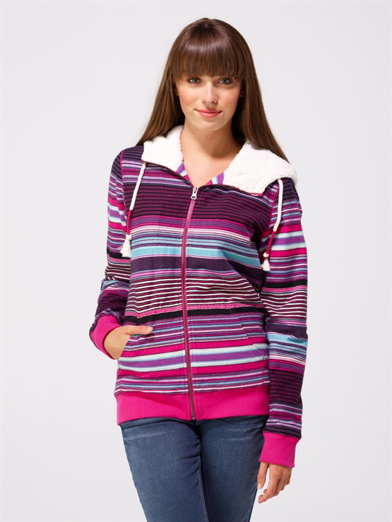 ECRGlacial 2 Zip Up Hooded Fleece by Roxy - FRT1