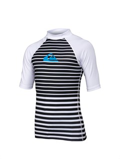 WHTBoys 8- 6 Line Up SS Rashguard by Quiksilver - FRT1