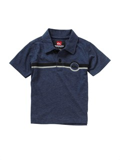 BTK0Baby On Point Polo Shirt by Quiksilver - FRT1