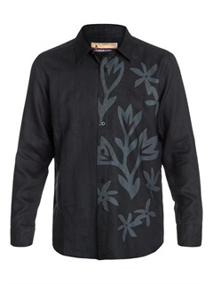 KVJ0Men s Quadra Long Sleeve Shirt by Quiksilver - FRT1