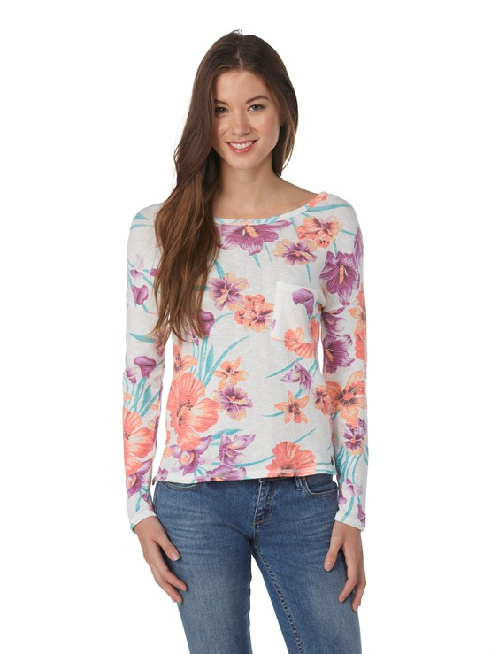 WBS6Spring Fling Long Sleeve Top by Roxy - FRT1