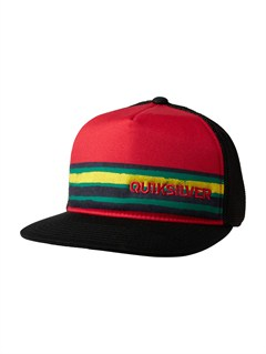 RRD0Boys 8- 6 Boards Trucker Hat by Quiksilver - FRT1