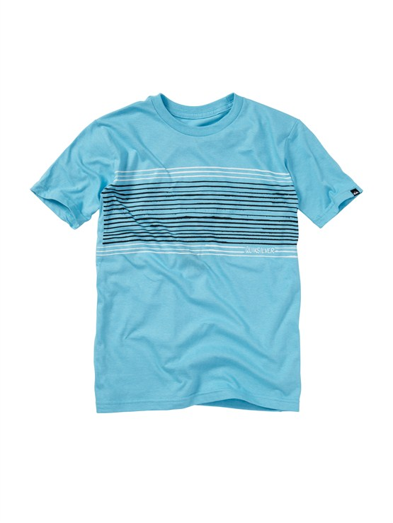 BHR0Boys 8- 6 Mountain And Wave Shirt by Quiksilver - FRT1