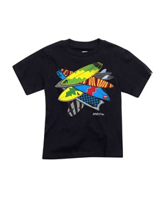 KVJ0Boys 2-7 Checkers T-Shirt by Quiksilver - FRT1