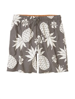 "KQZ0Butt Logo  7"" Volley Boardshorts by Quiksilver - FRT1"
