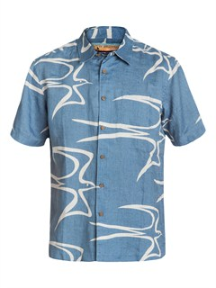 BND0Men s Aganoa Bay Short Sleeve Shirt by Quiksilver - FRT1