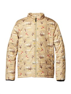 TKJ6Travis Rice Polar Pillow  5K Jacket by Quiksilver - FRT1
