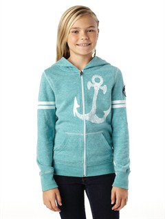 BLK0Girls 7- 4 Cold Day Hoodie by Roxy - FRT1