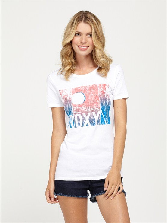 WBB0COTTON CANDY TEE by Roxy - FRT1