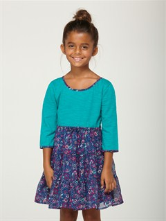 BSW6Girls 2-6 Block Party Dress by Roxy - FRT1