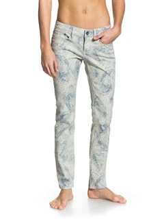 SGT6Suntrippers Crop Camo Jeans by Roxy - FRT1