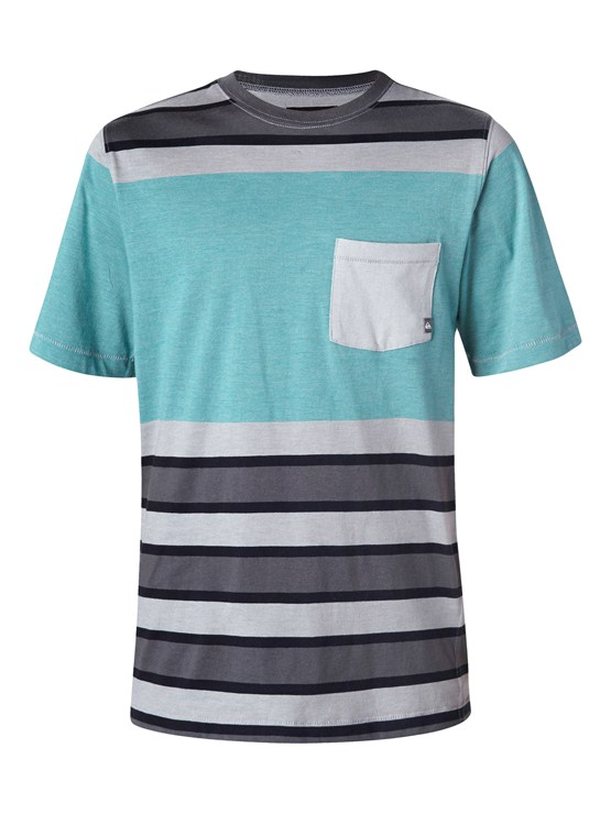 BQJ0Boys 8- 6 Mountain And Wave Shirt by Quiksilver - FRT1