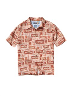 CPE0Men s Aganoa Bay Short Sleeve Shirt by Quiksilver - FRT1