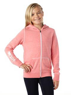 MJJ0Girls 7- 4 Cold Day Hoodie by Roxy - FRT1