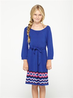 PRC0Girls 7- 4 Cloudy Dream Dress by Roxy - FRT1