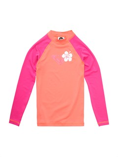 MHD0Girls 7- 4 Roxy Border Rashguard by Roxy - FRT1