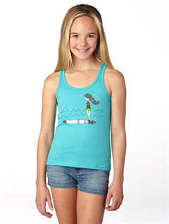 BLK0Girls 7- 4 Beach Delight Tank by Roxy - FRT1