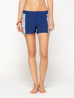 BSW0Smeaton Denim Print Shorts by Roxy - FRT1