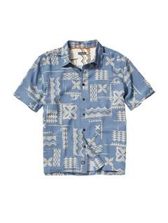 BNT0Mens Aganoa Bay Short Sleeve Shirt by Quiksilver - FRT1