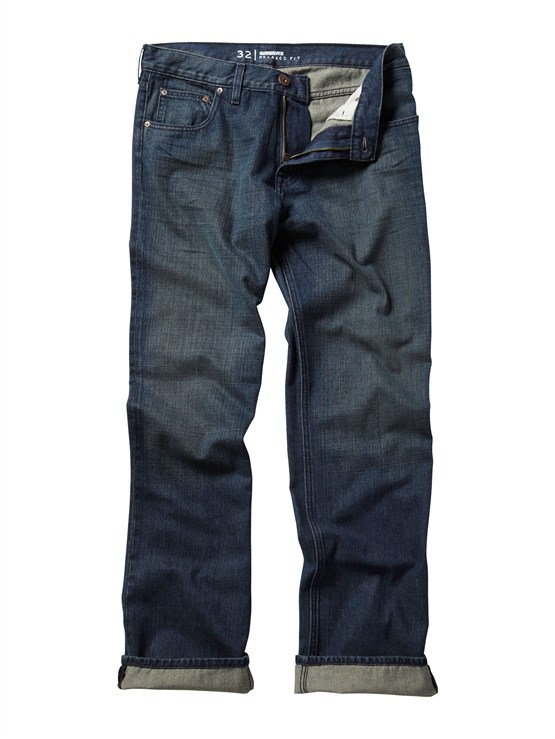 BSN0Double Up Jeans  32  Inseam by Quiksilver - FRT1