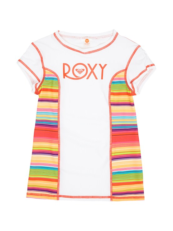 WBB0Girls 7- 4 Syncro 2MM SS Springsuit Back Zip by Roxy - FRT1