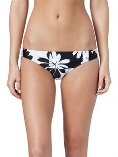 KVJ6Brazilian Chic Itsy Bitsy Bikini Bottoms by Roxy - FRT1